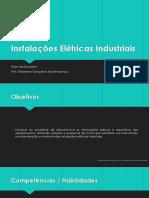 Plano DaDisciplina - Instalações Elétricas Industriais