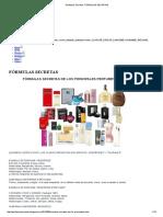 Perfumes Secretos - Fórmulas Secretas