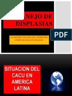 Manejo de Displasias Huacho 2013