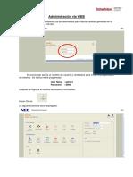 Programacion WEB SV8100