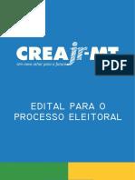 Edital Do Processo Eleitoral 2018 Do CreaJr-MT