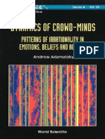 Dynamics of Crowd Minds Patterns of Irrationality in Emotions Beliefs and Actions World Scientific Series on Nonlinear Science Series a