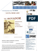 Trovadores Del Tucumán
