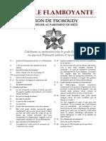 [Alchimie] Baron de Tschoudy - L'Etoile Flamboyante