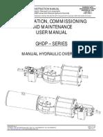 Hydraulic Override Manual