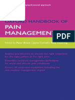 Oxford Handbook of Pain Management