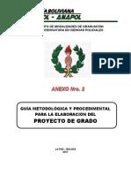 Anapol - Guía Metodológica - Proy - Grado 2017
