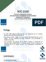 Presentacion Icontec Ntc-1500 2