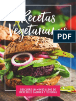 Recetario de Comida Vegetariana