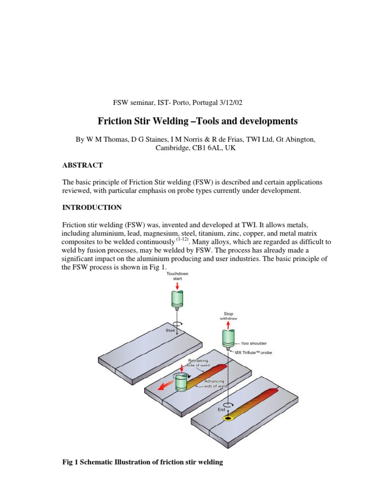1082d Welding Building Materials Friction Diagram