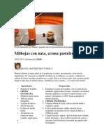 Recetas MasterChef Junior España