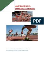 Planificación Atletismo