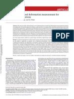 Improved Image-based Deformation Measurement for Geotechnical Applications
