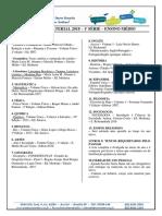 Lista de Material 2018 Ensino Médio