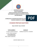 Informe Final de Pasantias Cagv