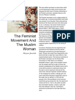 The Feminist Movement and the Muslim Woman