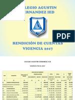 Rendicion de Cuentas 2017 Agustin Fernandez_pagaduría