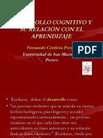 desarrollocognitivoysurelacinconelaprendizaje-140109190323-phpapp02