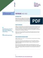 Fatigue and IBD