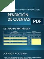 Rendición de Cuentas 2017_matricula
