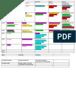 Propuesta horarios