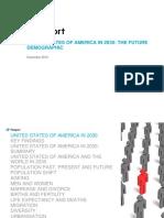 United States of America in 2030 the Future Demographic