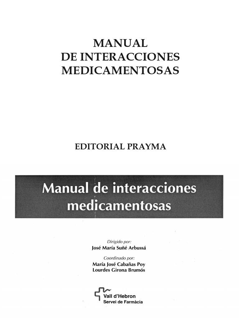 cloruro de magnesio interacciones medicamentosas