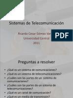 Sistemas de Telecomunicación