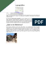Información Geográfica