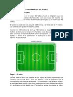 17 Reglamentos Del Futbol