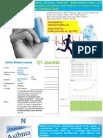 Journal Reading dan Critical Appraisal
