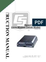 RavenXTV CDMA Sierra Wireless Cellular Modem