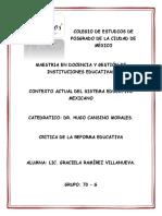 Analisis de La Reforma Educativa de EPN