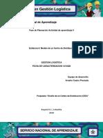 Evidencia 6 Modelo de Un Centro de Distribución