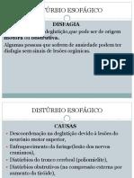 Distúrbio Esofágico e Refluxo 5, 6 e 7