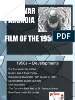 1950s Film Presentation Cold War Paranoia