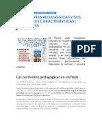 4 corrientes pedagógicas y sus principales caracteristicas.docx