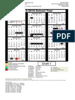 Calendar Choice 1