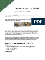 0878 7896 9087, Jasa Renovasi Apartemen Jakarta Selatan.