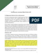Guía Básica Para Asociaciones Público Privadas