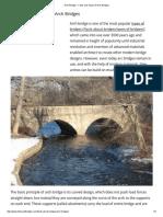 Arch Bridges - Facts and Types of Arch Bridges