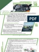 Tema 10 Funcionamiento y Mantenimiento Del Automovil