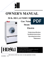 Cissell- HD 50 Dryer