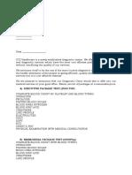 Medical Examination Proposal-corporate Account