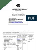 Propuesta de Aprendizaje Proc. Datos