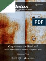 267cadernosihuideias_O que resta da ditadura_TOSI. Giuseppe.pdf