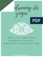 Mi Planning de Yoga 1 2