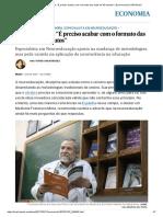 """Francisco Mora_ """"É Preciso Acabar Com o Formato Das Aulas de 50 Minutos"""" _ Economia _ EL PAÍS Brasil"""