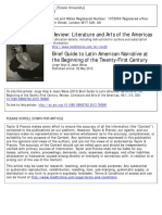 Brief Guide to Latin American Narrative at the Beggining Twenty Fifth Century