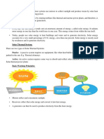 Solar Thermal (Elective 3, Group 2) Document